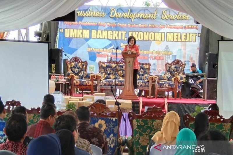Wabup apresiasi pelaksanaan program Business Development Services oleh KP2KP Buntok