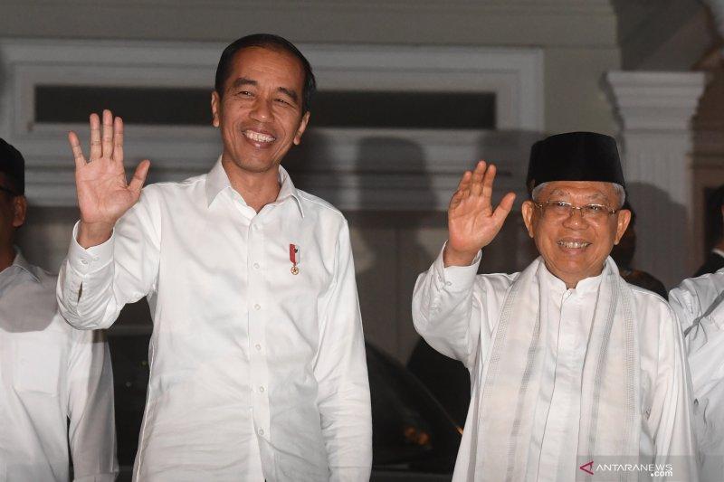 Jokowi-Ma'ruf Amin harus mengawali langkah rekonsiliasi