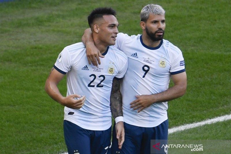 Aguero bertepuk dada, sebut Argentina kuat di babak gugur