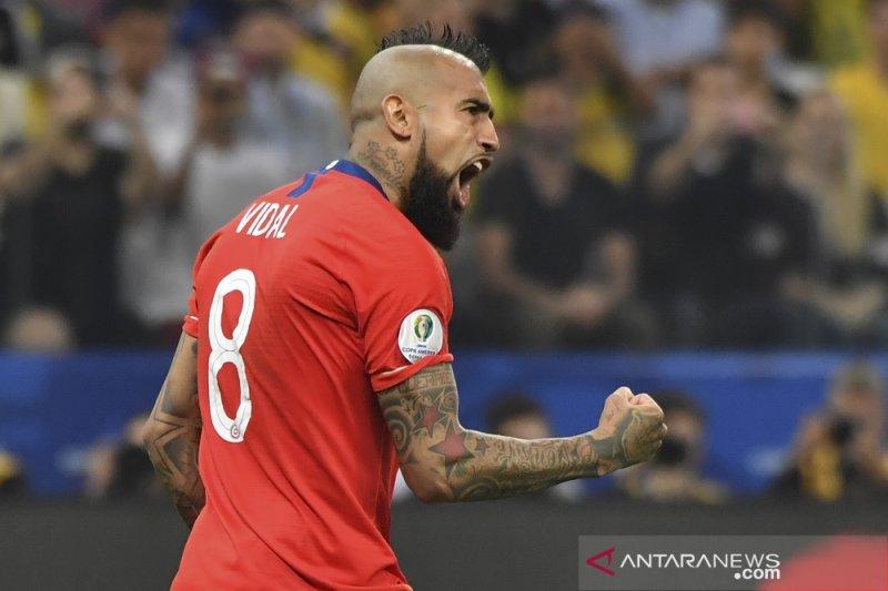 Arturo Vidal : Chile seharusnya menang tanpa adu penalti