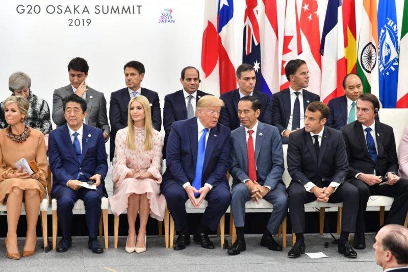 Luhut ungkap Presiden Jokowi disenangi pemimpin negara pada KTT G20