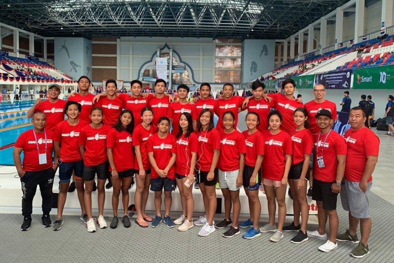 Indonesia boyong 20 medali dikejuaraan renang junior Asia Tenggara