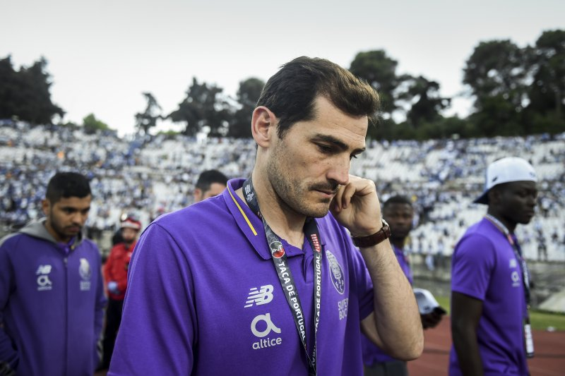 Dua bulan pascaserangan jantung, Iker Casillas kembali gabung skuat Porto