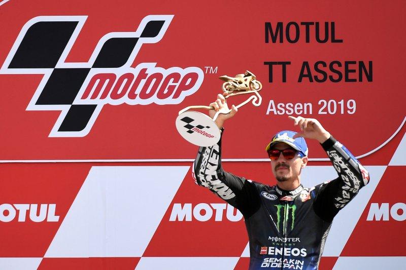 Yamaha di Assen mendominasi usai Vinales juara