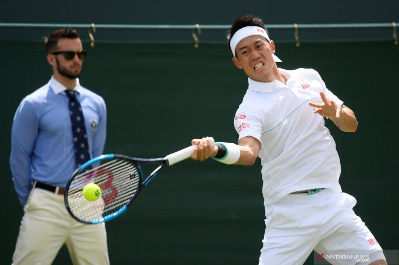 Bintang tenis Jepang Nishikori mundur dari ATP Cup