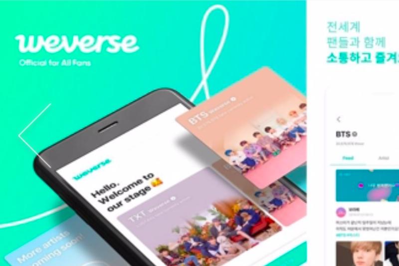 BTS meluncurkan aplikasi komunitas penggemar
