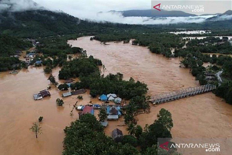 Rp2 miliar, bantuan dari BUMN untu korban banjir Konawe
