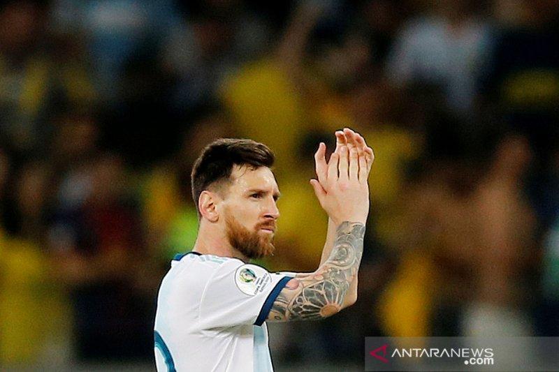 Messi dilarang membela tim nasionalnya selama tiga bulan