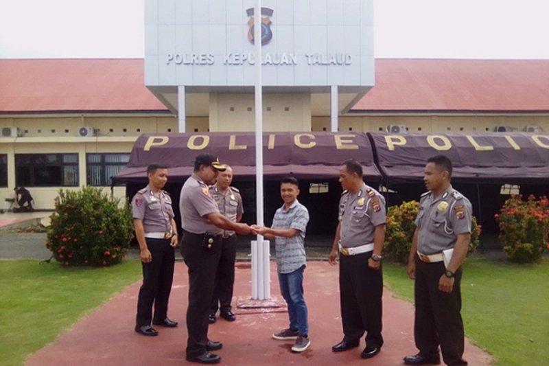 SIM gratis kepada pemuda lahir 1 Juli dari Polres Talaud