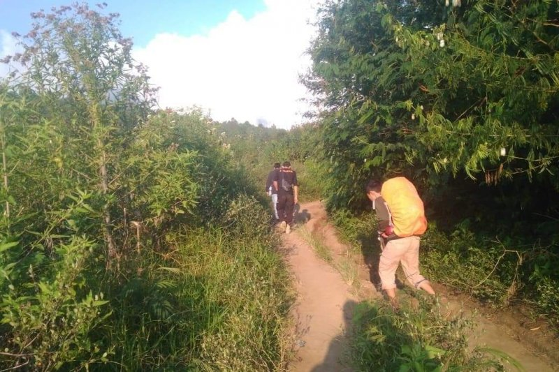 Seorang pendaki Marapi dilaporkan terjatuh, ini kondisinya