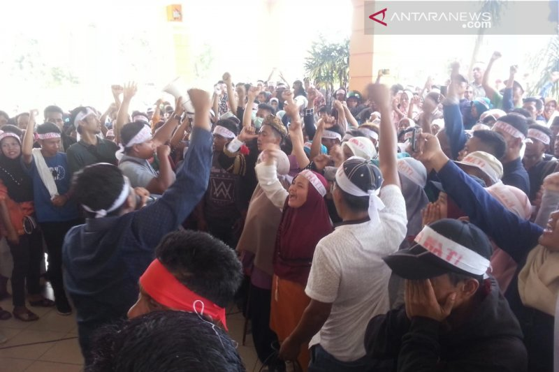 Ingin mekar tak digubris, masyarakat Tinggam Talamau kembali demonstrasi