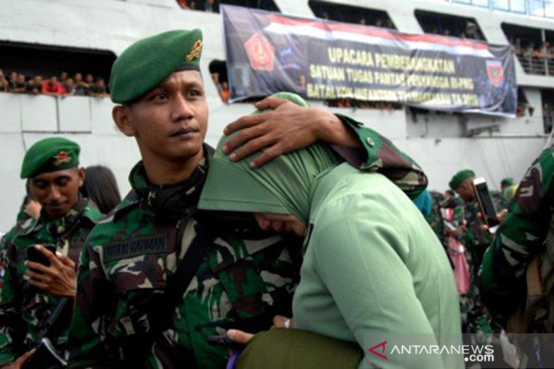 Pengiriman pasukan TNI pengamanan perbatasan RI-Papua Nugini