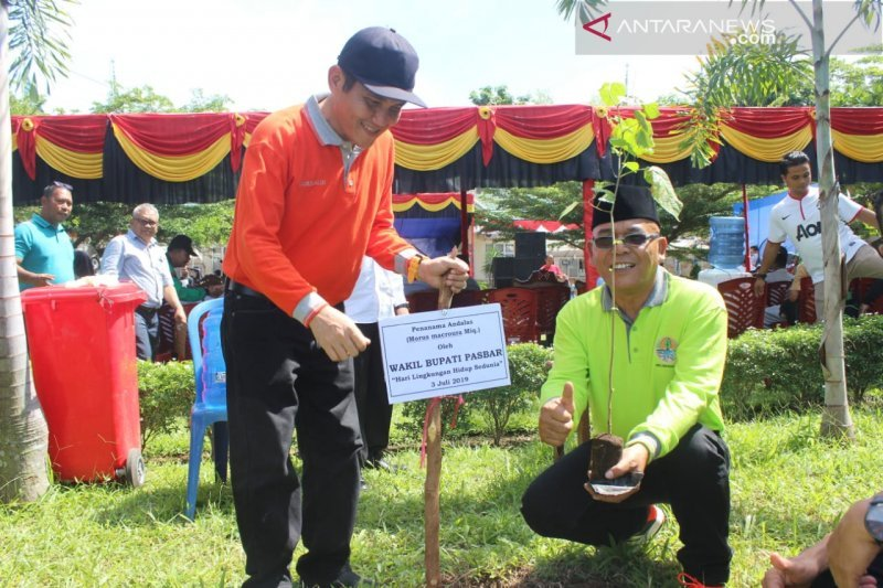 Pasaman Barat will be the area without plastic