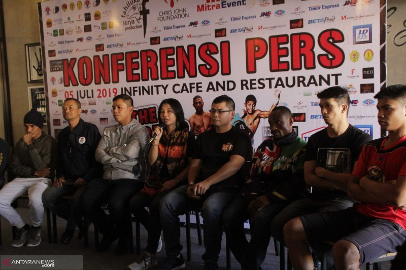 Empat negara bertarung dalam kejuaraan tinju dunia di Kupang