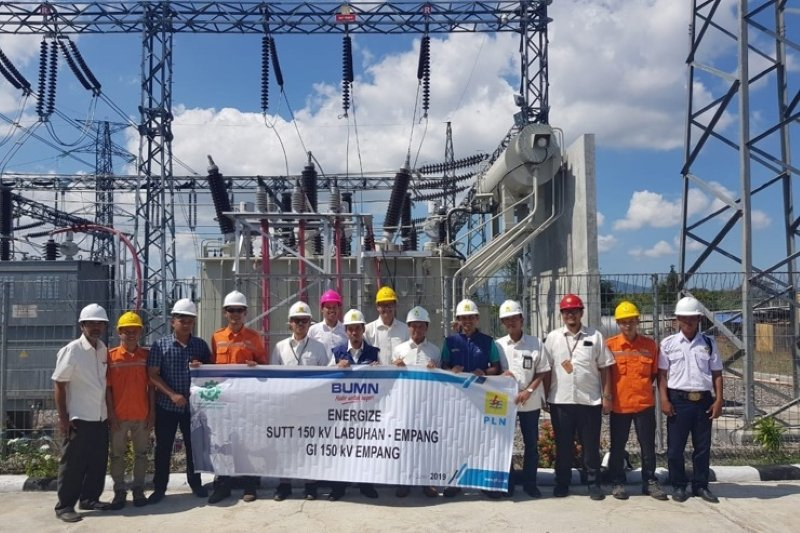 PLN membangun SUTT dari Sumbawa ke Dompu