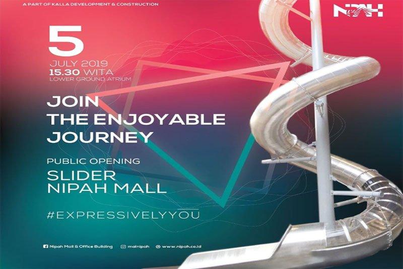 Nipah Mall hadirkan wahana seluncur