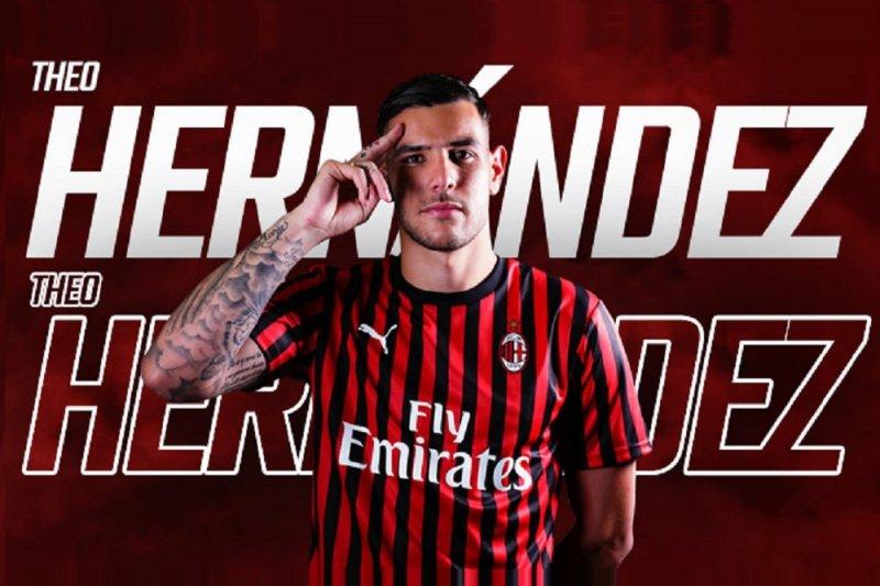 Theo Hernandez jadi rekrutan Milan