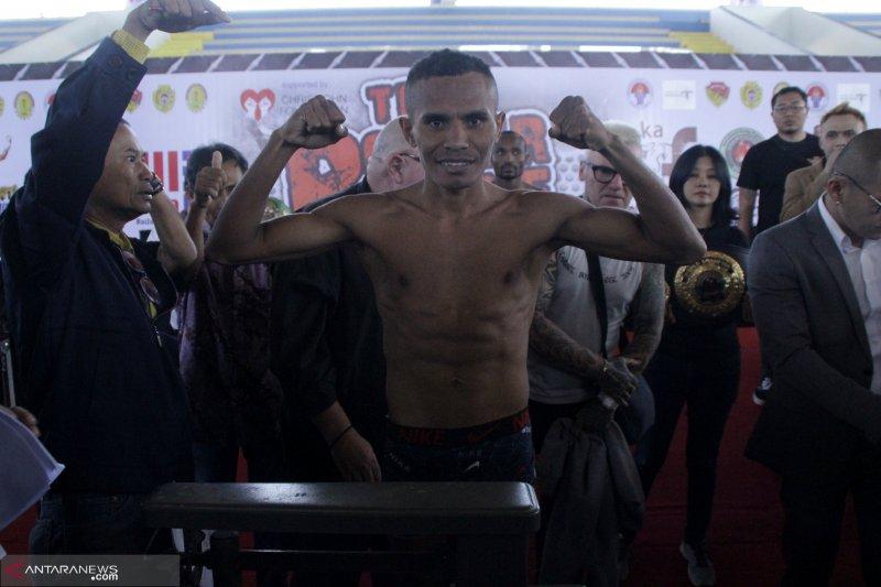 Tibo yakin raih gelar juara dunia tinju versi IBO