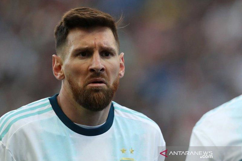 Messi dijatuhi denda dan larangan bermain dalam Copa America