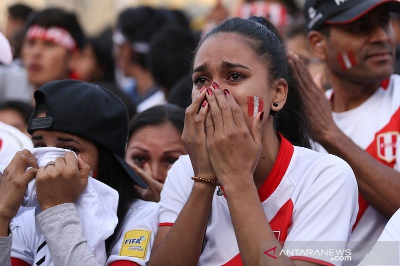 "Peru ""on the track"" meski dikalahkan Brasil"