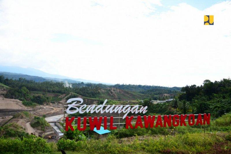Konstruksi bendungan Kuwil ditargetkan selesai Agustus 2020