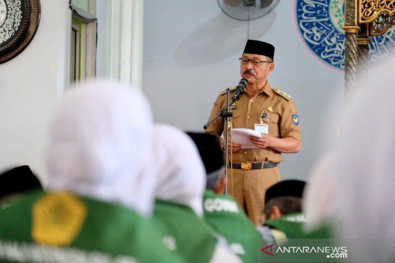 450 JCH Kabupaten Gowa berangkat Rabu subuh