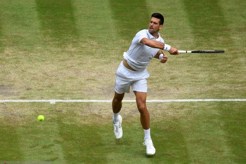 Novak Djokovic pastikan posisi di semifinal ke-9 di Wimbledon
