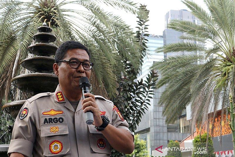 """Tiga tersangka """"ikan asin"""" ditahan di Rutan Polda Metro Jaya"""