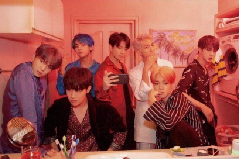 Curahan hati BTS usai tampil di Grammy Awards 2020