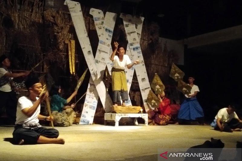 """Seniman Madura pentaskan """"Retorika Kerinduan"""" di Museum Lima Gunung"""
