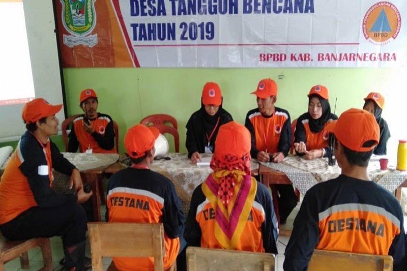Tingkatkan kesiapsiagaan, BPBD Banjarnegara latih relawan desa tangguh bencana
