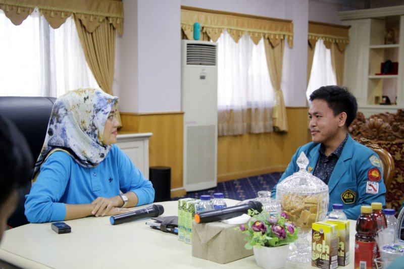 Wagub Lampung dorong mahasiswa untuk aktif berorganisasi