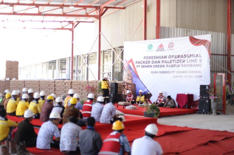 Semen Gresik tambah kapasitas produksi pabrik Rembang