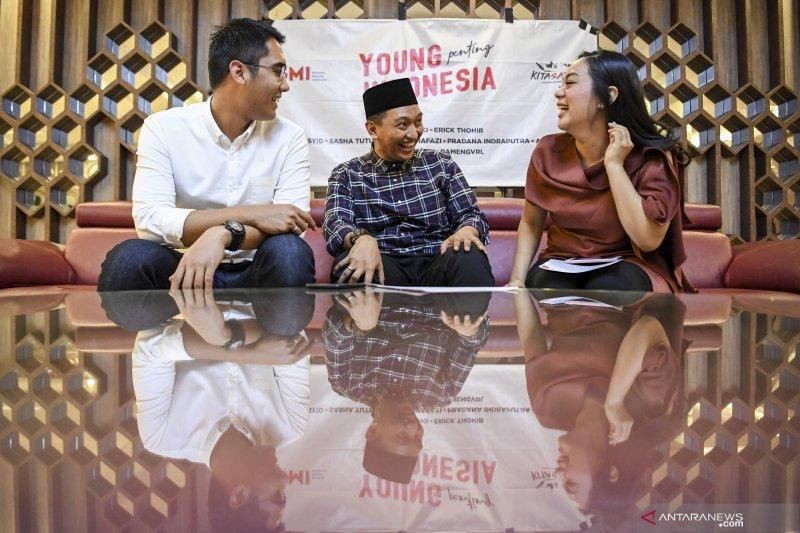Kalangan milenial apresiasi pertemuan antara Jokowi-Prabowo