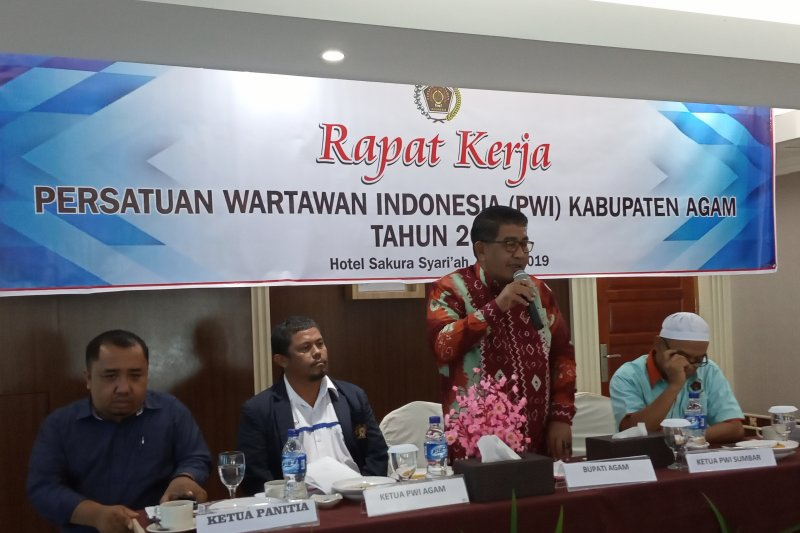 PWI Agam targetkan seluruh anggota ikuti uji kompetensi wartawan