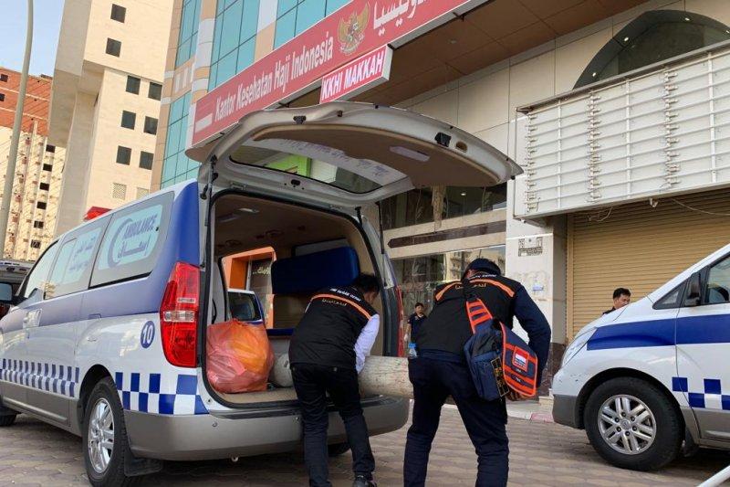 Klinik Kesehatan Haji Makkah sediakan obat-obatan seberat 50,8 ton