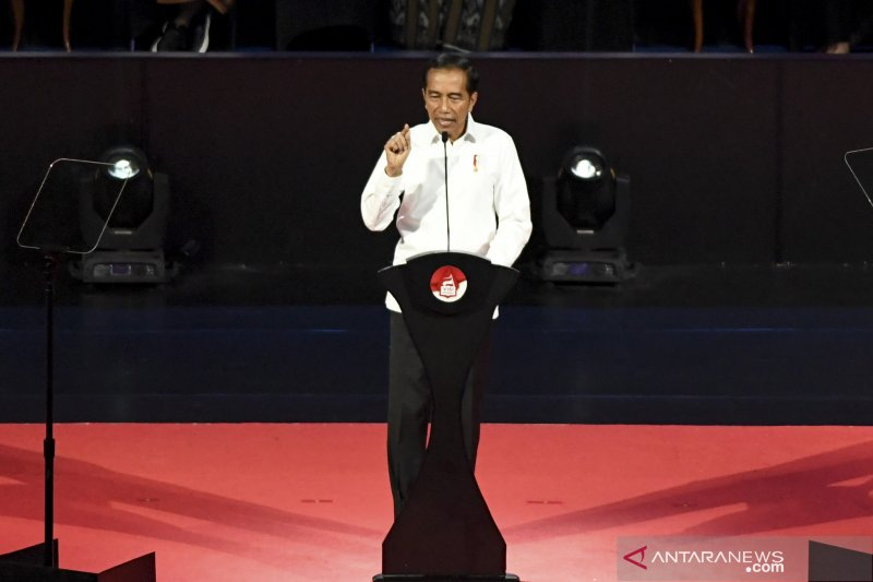 Kemarin, lima janji Jokowi hingga pertemuan dengan Prabowo