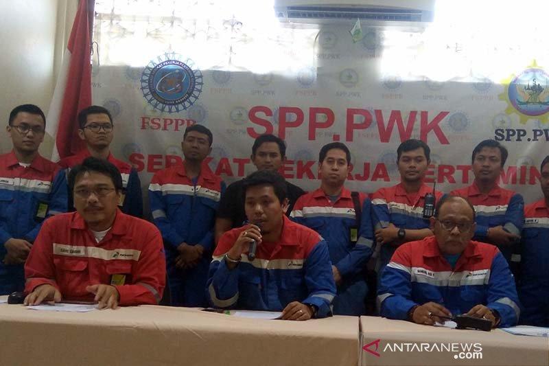 Serikat Pekerja Pertamina Cilacap minta bisnis LNG dipertahankan untuk negara (VIDEO)