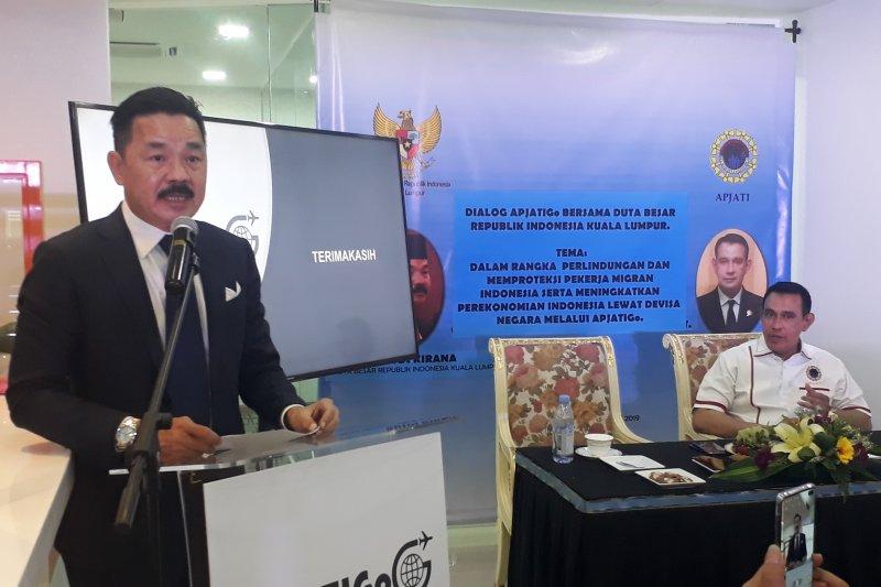 Dubes Rusdi : Jangan ada potongan gaji pada PMI di Malaysia