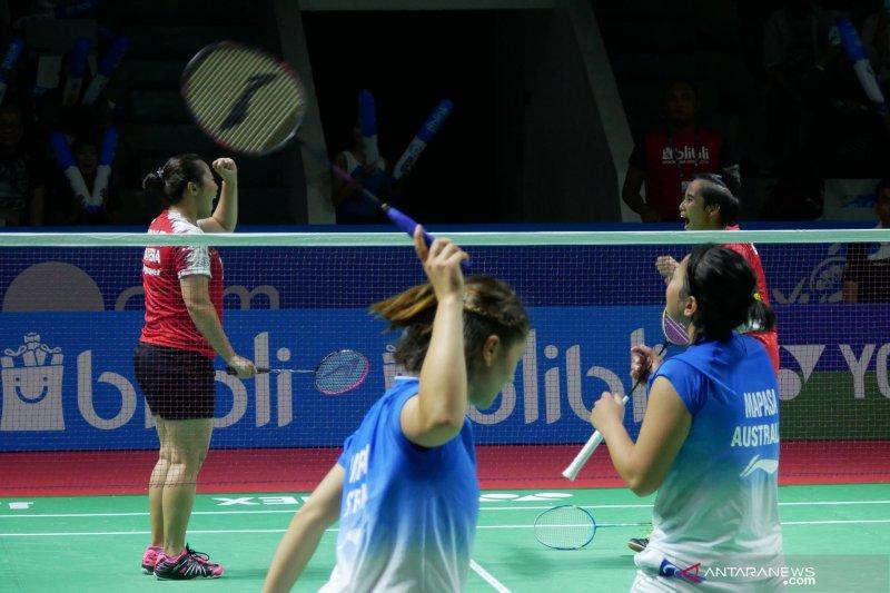 Nadya/Tiara ke babak kedua Indonesia Open