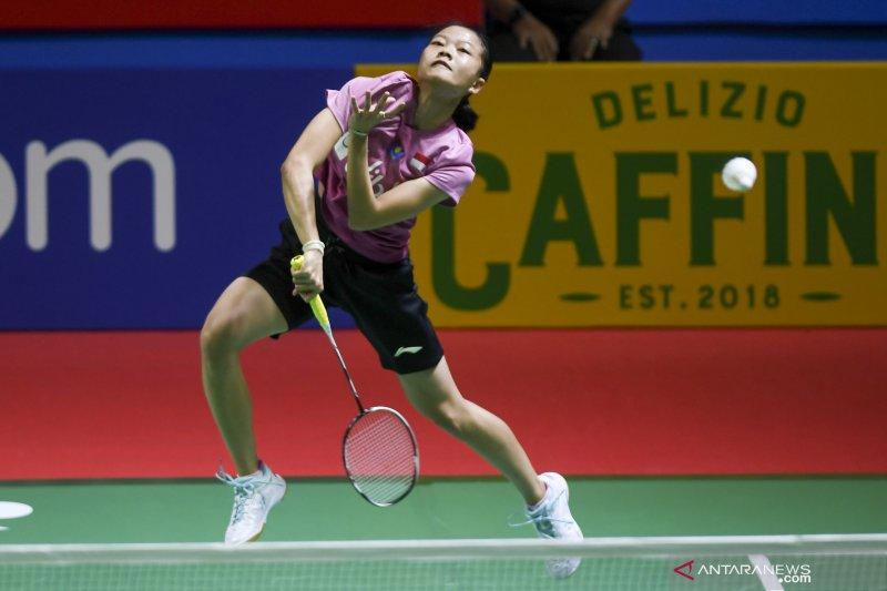 Habis sudah empat wakil Indonesia di Thailand Open