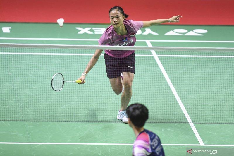Fitriani kembali bertemu unggulan kedua China Chen Yu Fei pada hari kedua Japan Open