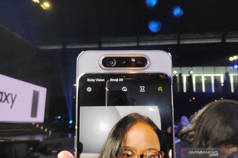 Samsung jamin kualitas kamera putar Galaxy A80