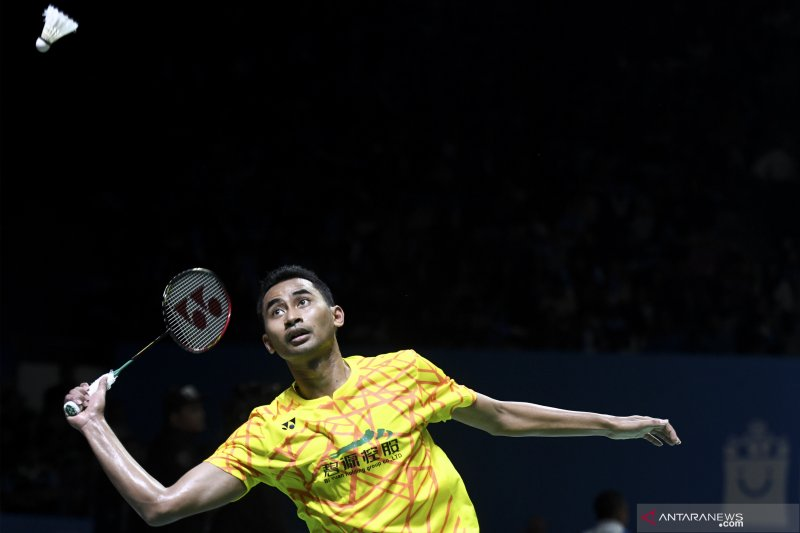 Ginting dan Tommy tumbang di perempat final Japan Open 2019