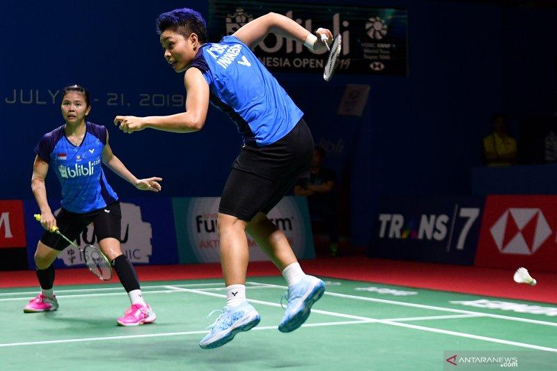 Jadwal perempat final Indonesia Open hari ini
