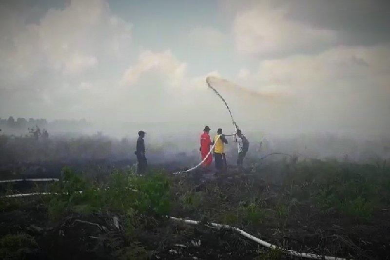 BPBD Sumsel kerahkan  seluruh kekuatan untuk tanggulangi bencana asap