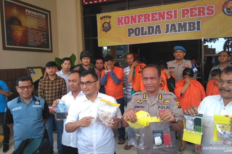 Dikemas dalam bungkus kopi, polisi tangkap anggota sindikat sabu jaringan Malaysia
