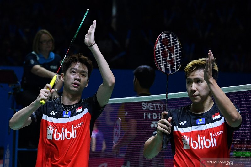 Kevin/Marcus melaju ke perempat final Indonesia Open