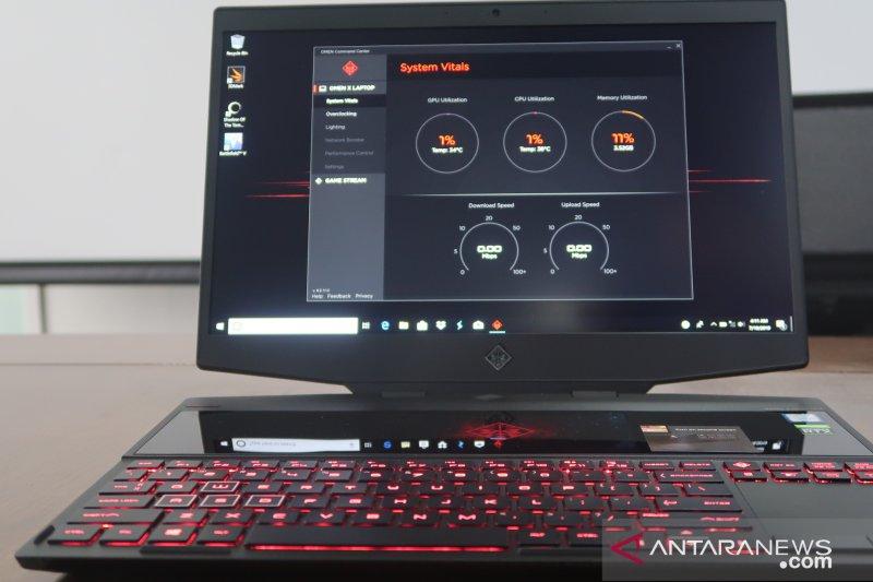 HP akan luncurkan laptop gaming dua layar