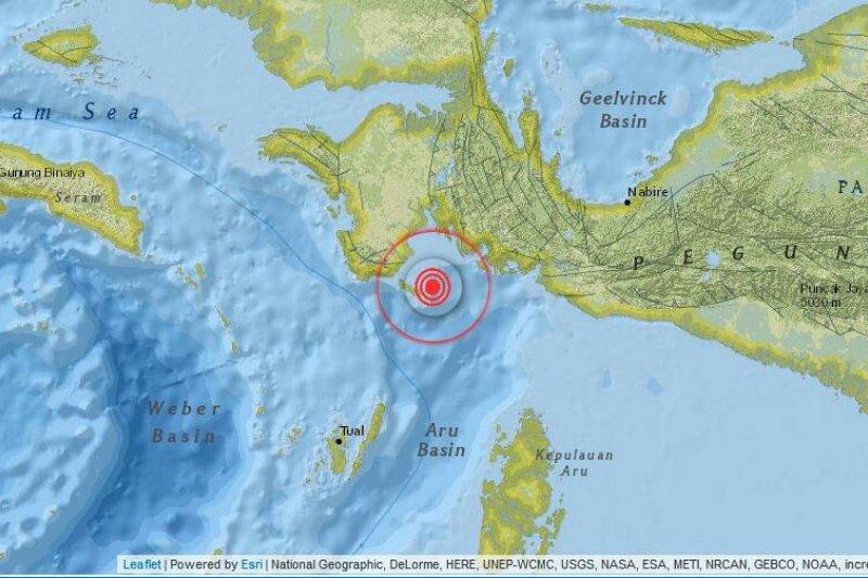 Gempa 4,8 SR guncang Kabupaten Kaimana Papua Barat